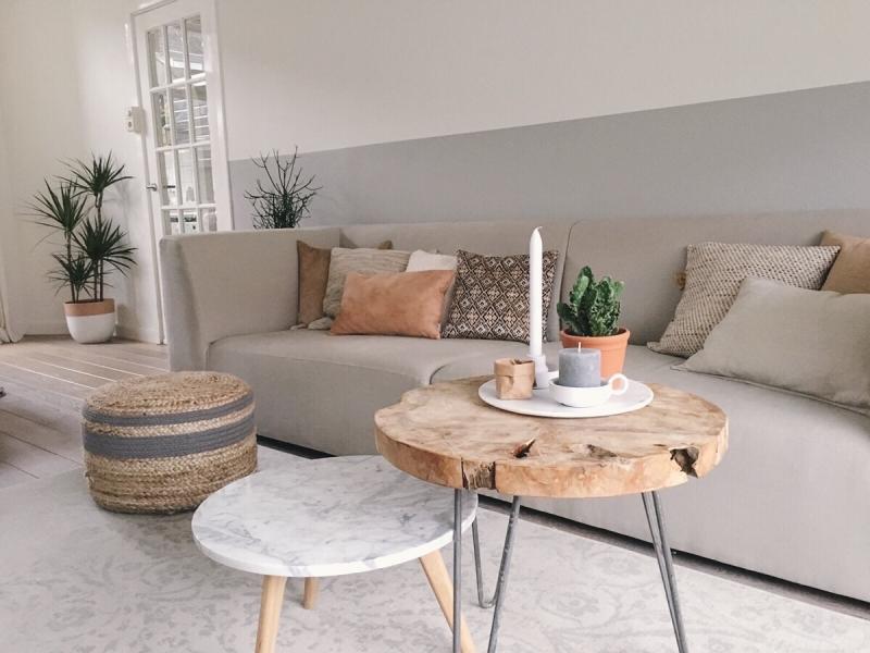 Warmte kleur rust interieur - Kleur moderne woonkamer ...