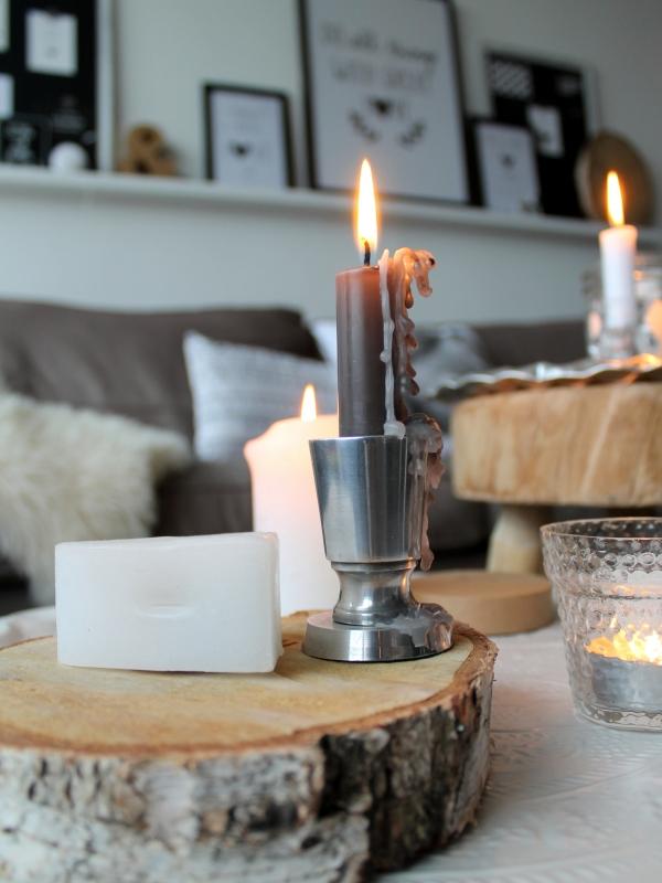 Scandinavisch stoer interieur bij ons huisje op negen for Boomstam decoratie