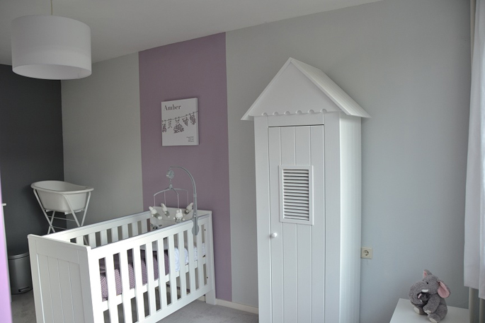 babykamer paars zilver ~ lactate for ., Deco ideeën