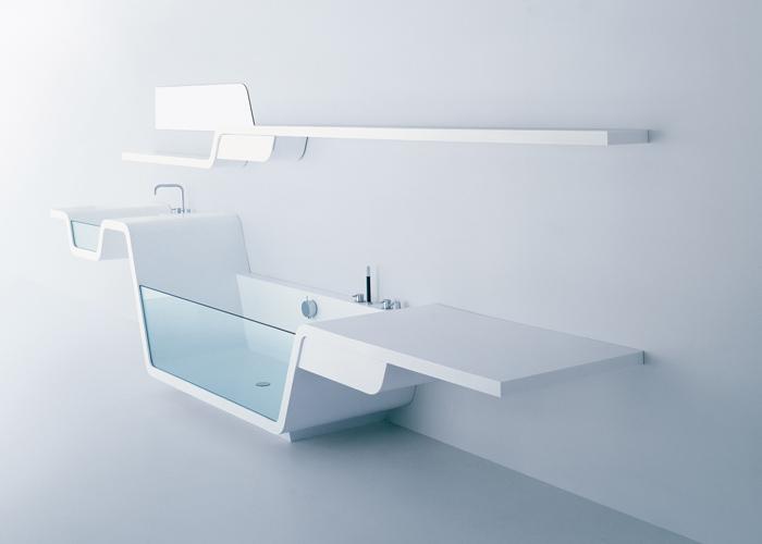 Badkamer Glaswand : En dat niet alleen! Bad met glaswand, wastafel en ...