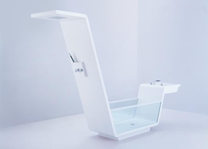 Badkamer Glaswand : ... een wel hele bijzondere collectie meubels voor ...