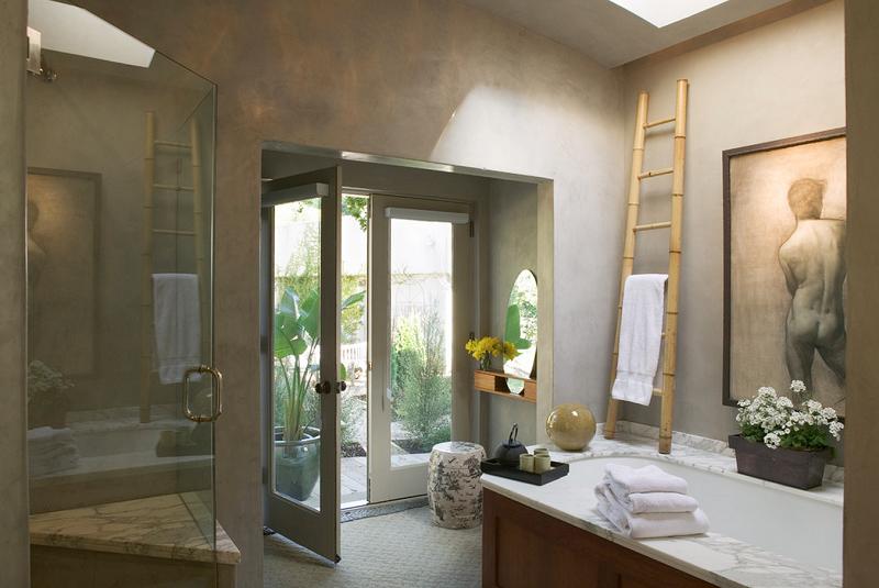 Luxe badkamers inspiraties - Sfeer zen badkamer ...