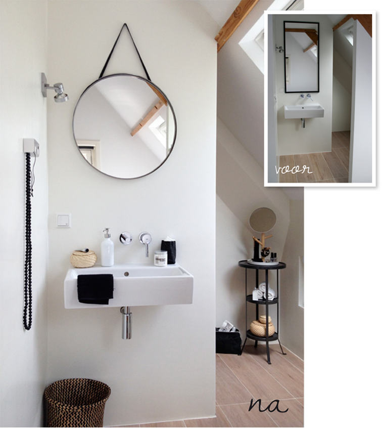 Badkamer mini make over  Inspiraties  ShowHome nl