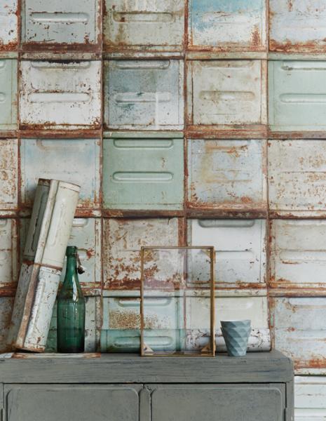 slaapkamer » behang steenmotief slaapkamer - galerij foto's van, Deco ideeën