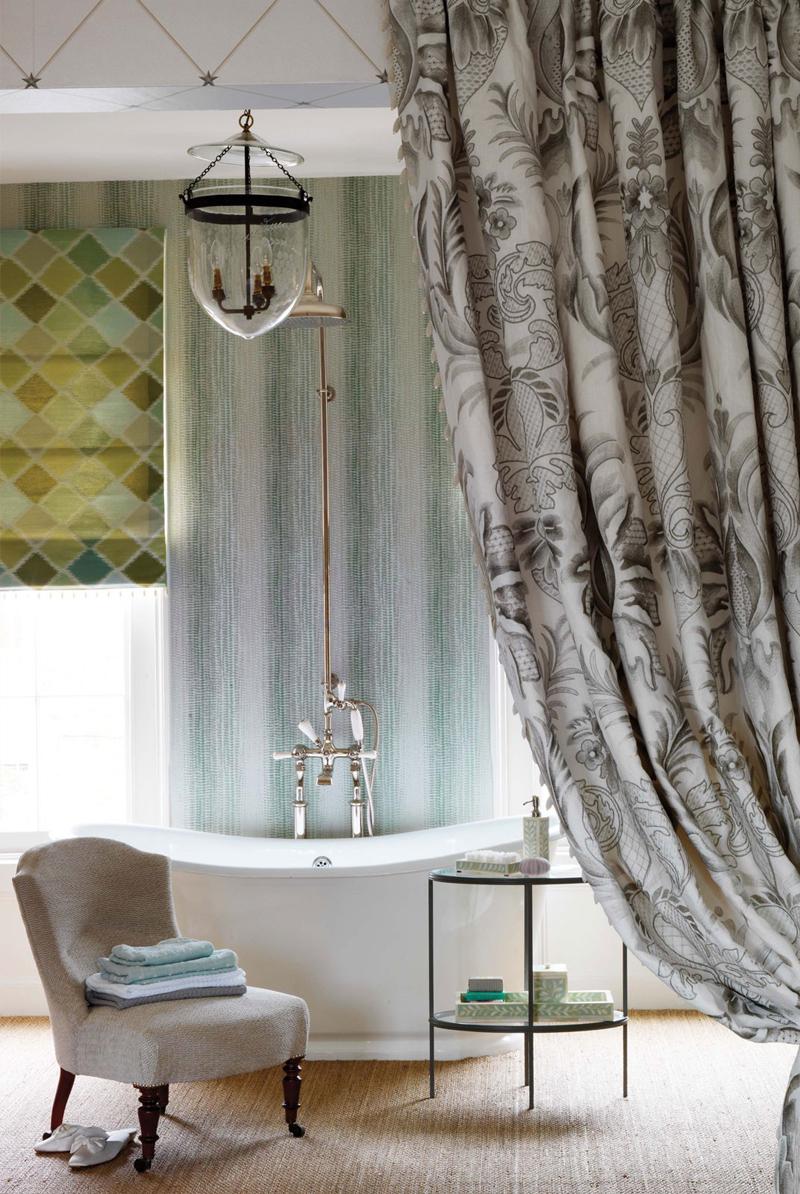 Behang op de badkamer - Inspiraties - ShowHome.nl
