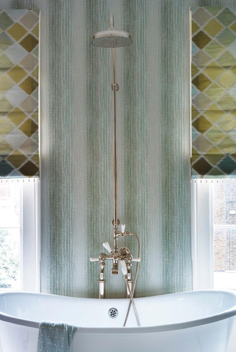 behang op de badkamer  inspiraties  showhome.nl, Meubels Ideeën