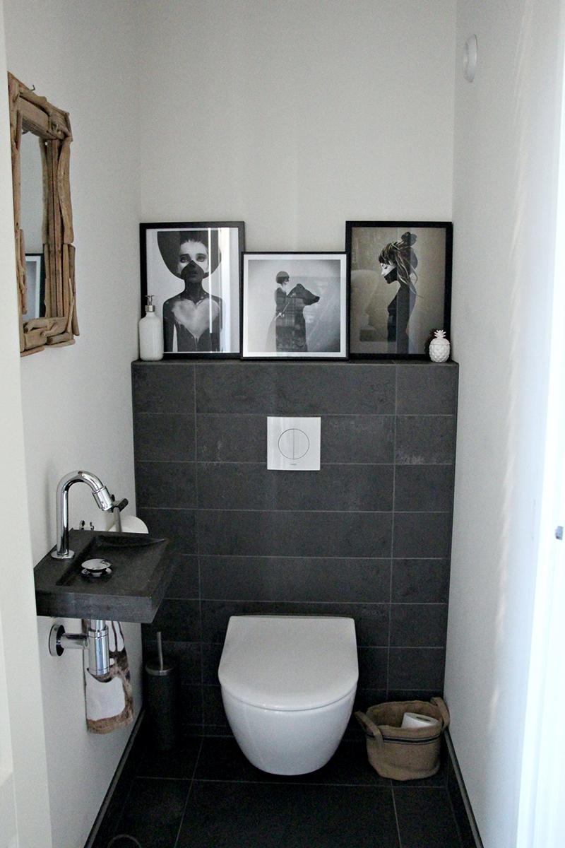 Binnenkijken bij chantal inspiraties for Decoratie wc