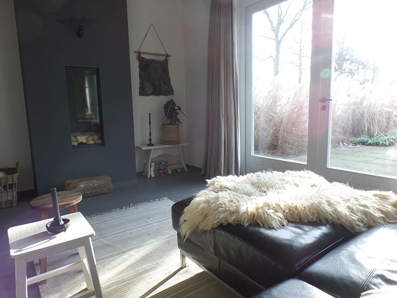 Binnenkijken bij nancy inspiraties - Verf haar woonkamer ...