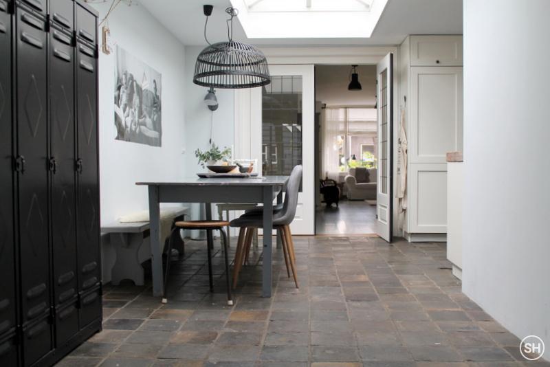 Binnenkijken in oud huis met moderne invloeden inspiraties - Interieur oud huis ...