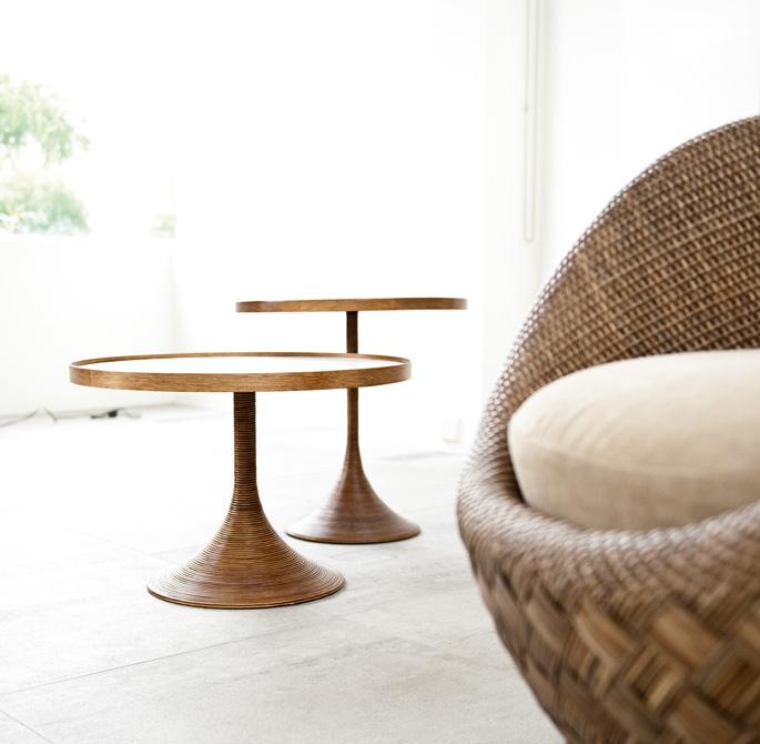 Comfortabele stoel van rattan - Inspiraties - ShowHome.nl