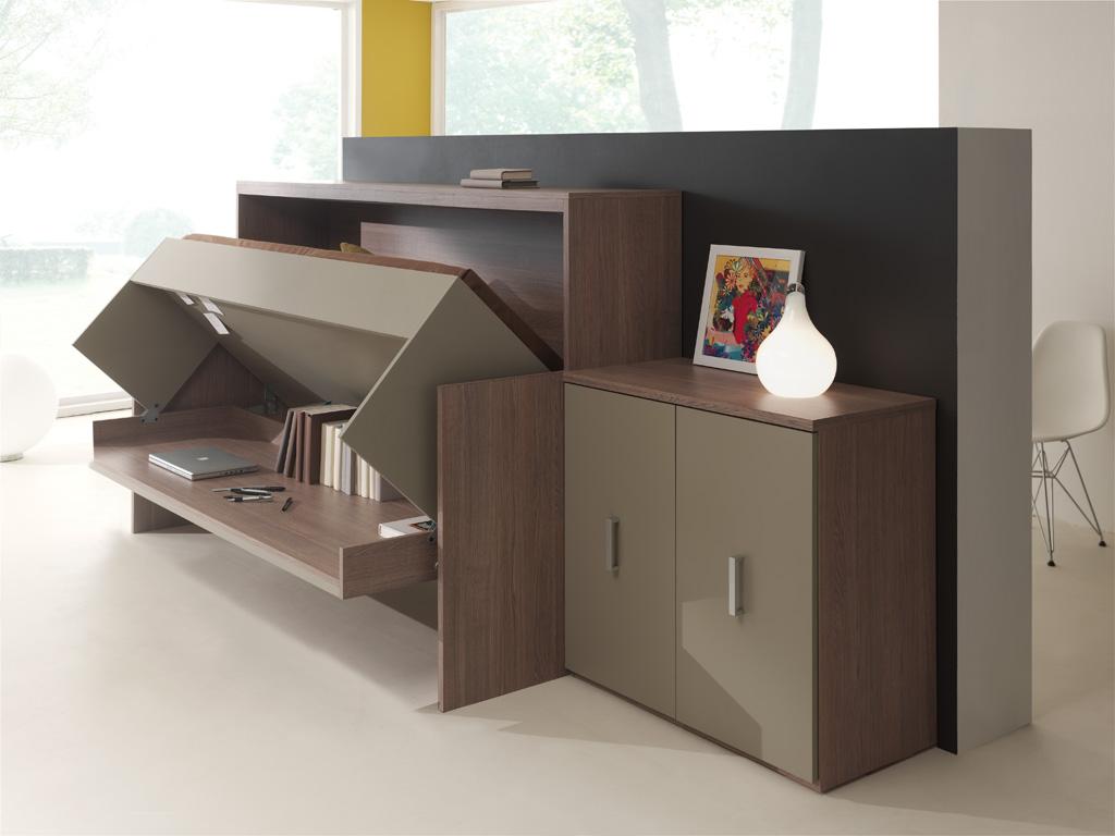 Te Kleine Slaapkamer : De ideale oplossing voor een kleine slaapkamer een bed en bureau