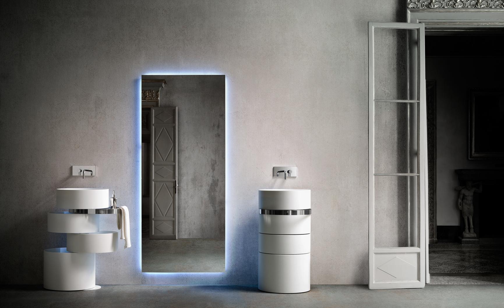 Design badkamermeubel met ingebouwde wastafel - Nieuws - ShowHome.nl