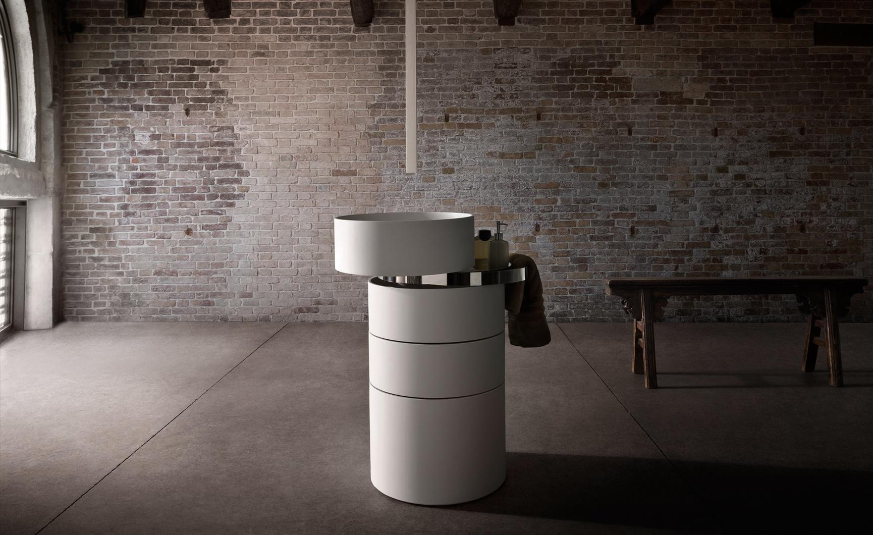 Design badkamermeubel met ingebouwde wastafel - Inspiraties - ShowHome ...