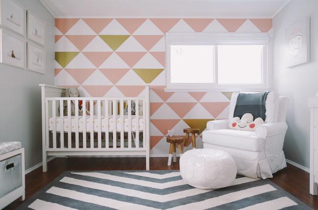 Een Bijzondere Muur In Je Babykamer Inspiraties