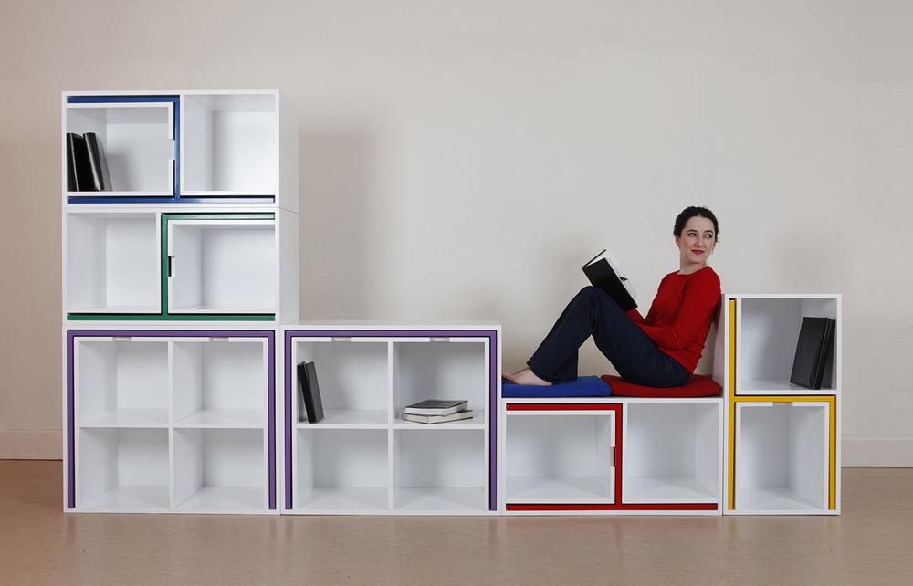 Een boekenkast voor stoelen en tafels... - Inspiraties - ShowHome.nl
