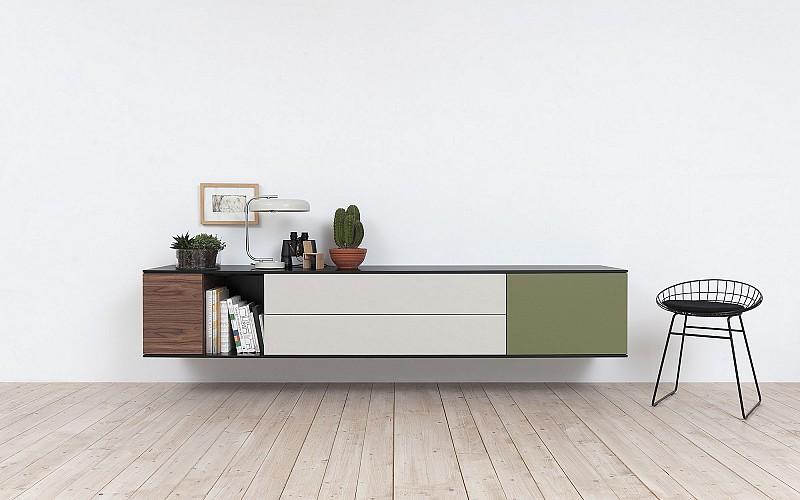 Een dressoir wat kun je ermee inspiraties for Modern tv meubel design