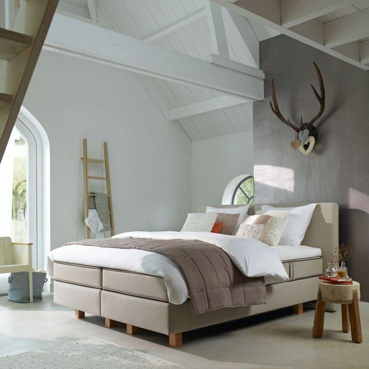 Een nieuw bed kiezen inspiraties - Taupe kamer en wit ...
