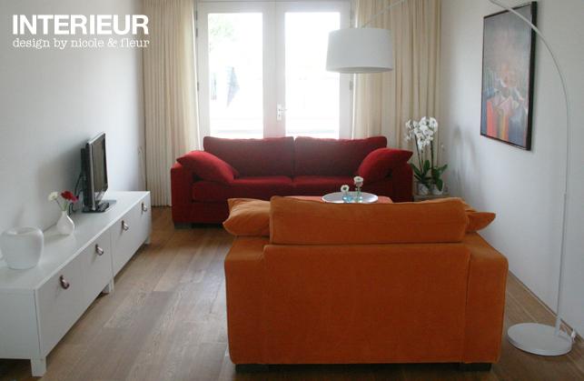 Een nieuw ingericht appartement met kleur interieurstylist - Kleur appartement ...