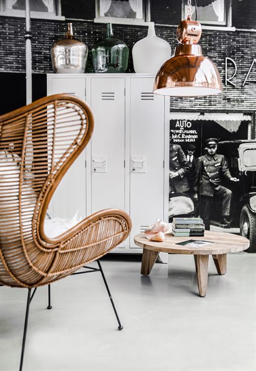 Egg chair van rotan inspiraties for The egg stoel