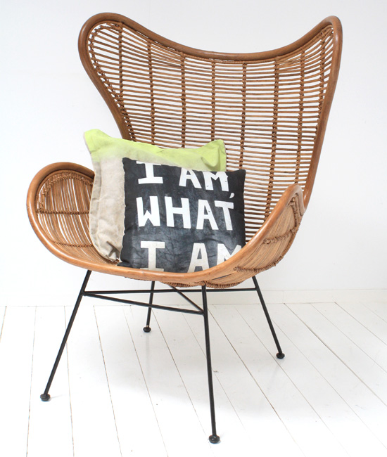 Egg chair van rotan   Inspiraties   ShowHome nl