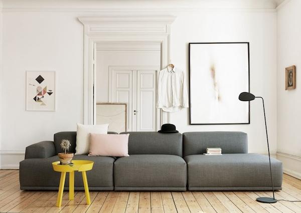 Flexibel met een modulaire bank inspiraties for Scandinavisch design bank