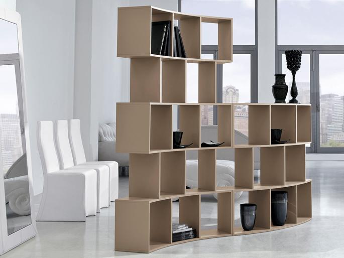 Flexibele boekenkast inspiraties - Moderne boekenkast ...