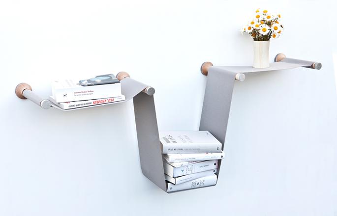 Flexibele boekenplank inspiraties - Plank wandmeubel ...