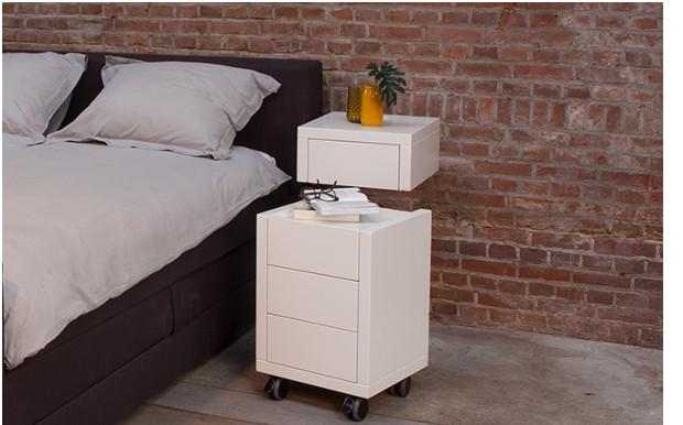 Functionele slaapkamermeubels? Zelf een nachtkastje maken naar eigen ...