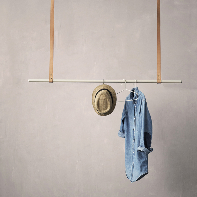 Extreem Hangend kledingrek - Inspiraties - ShowHome.nl BB58
