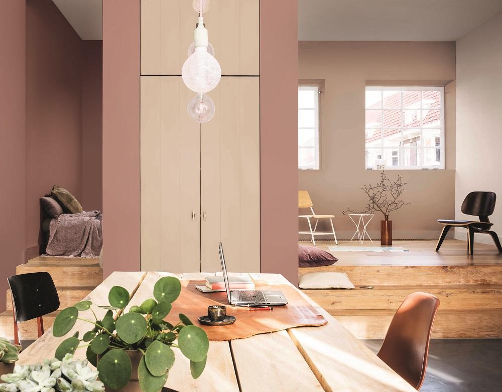 Hoe kies je een nieuwe kleur voor in huis inspiraties for Huis verven inspiratie