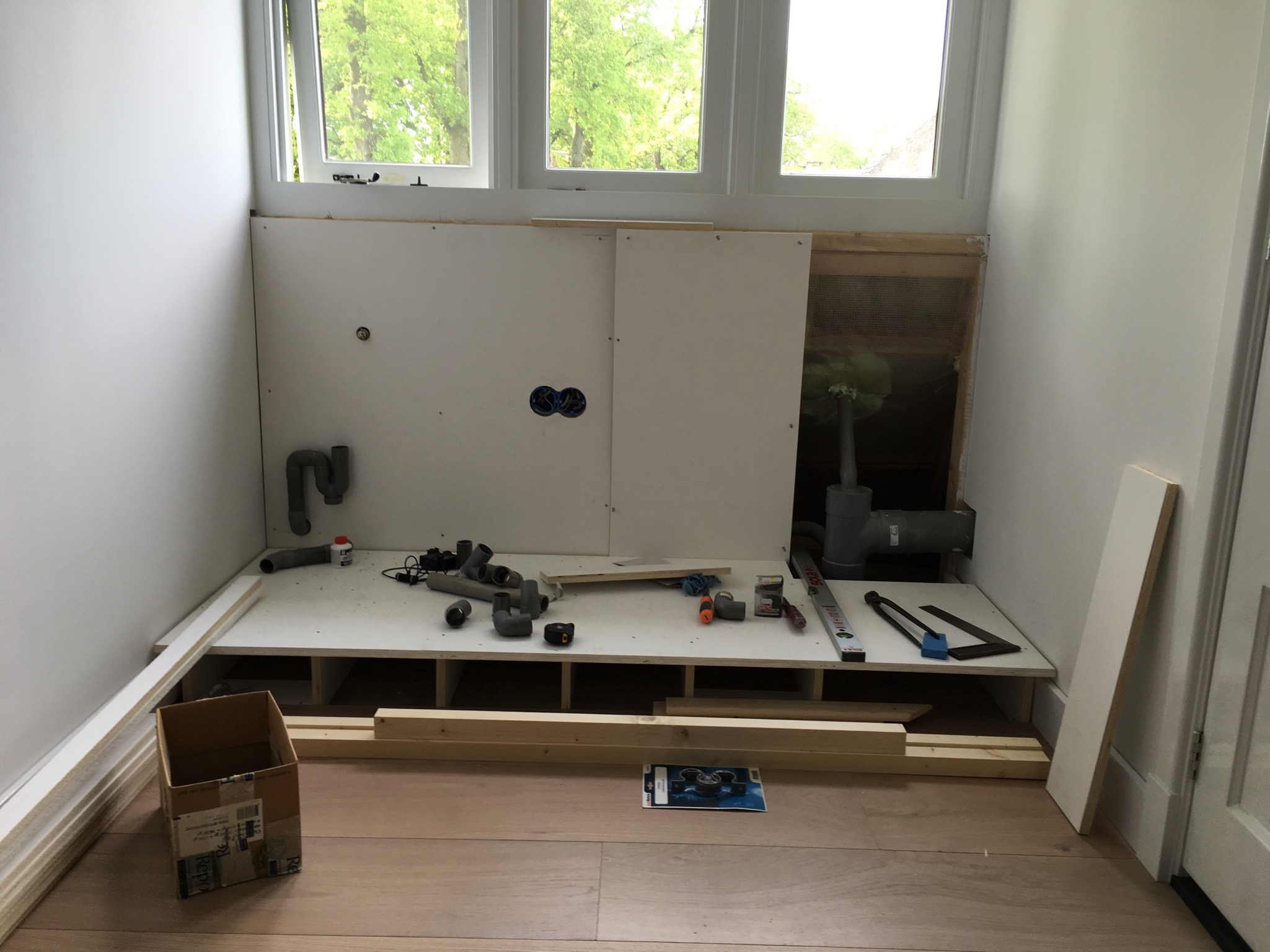 Diy: wasmachine ombouw   inspiraties   showhome.nl