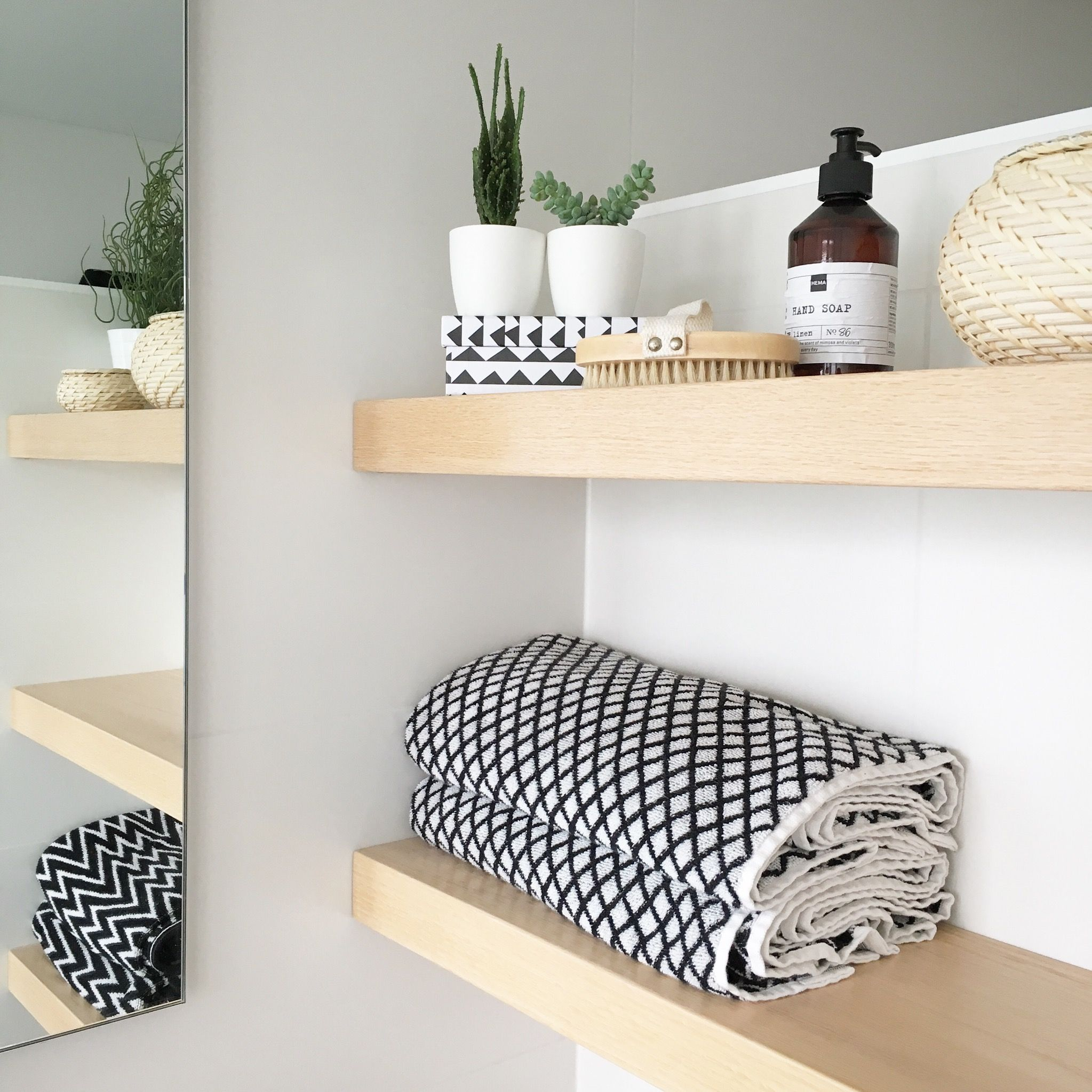 DIY: zwevende badkamer planken - Inspiraties - ShowHome.nl