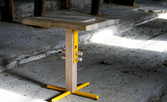Verstelbare tafel bonnewits horeca