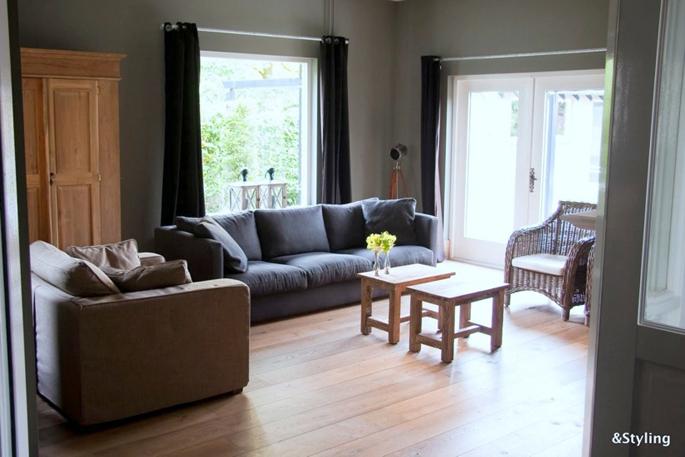 Inrichting en kleurenplan woonkamer en keuken interieurstylist - Kamer inrichting ...