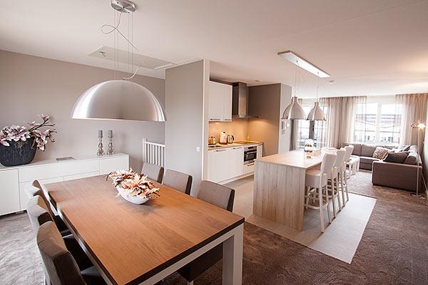 Ontwerp en inrichting nieuwbouw appartement for Inrichting huis ontwerpen