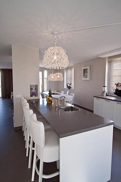 Inrichting woonkamer keuken for - Open keukeninrichting ...