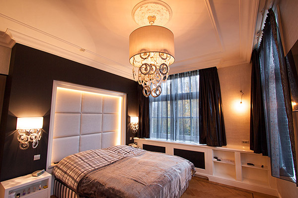 Inrichting woonhuis interieurstylist - Personeel inrichting slaapkamer ...