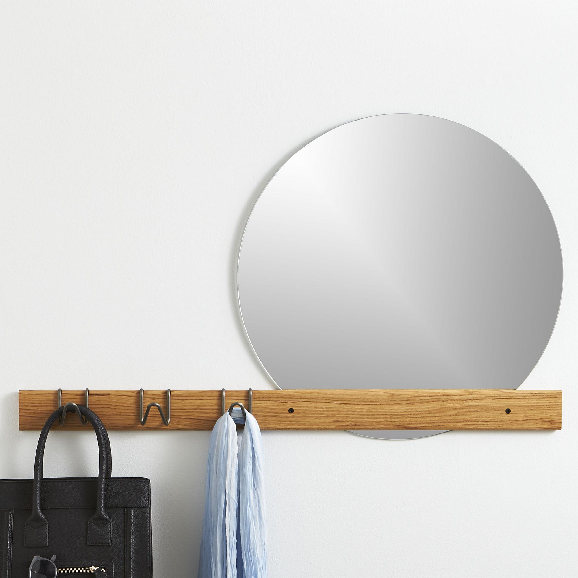 Kapstok en spiegel voor een kleine ruimte inspiraties - Spiegel voor ingang ...