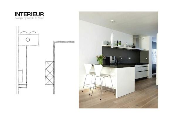 Kleine Keuken Met Schiereiland : Keukeneiland met bar - Inspiraties ...