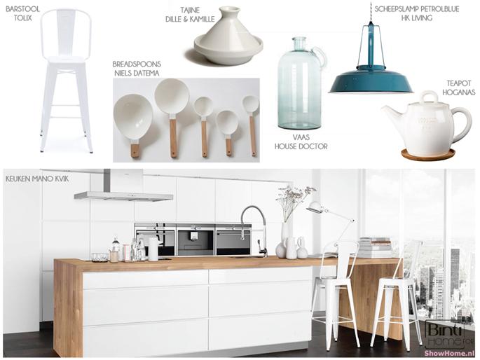 Keukeninspiratie: naturel industrieel of kleurrijk modern ...