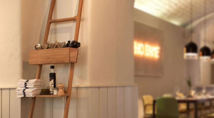 Ladder in je badkamer   Inspiraties   ShowHome nl