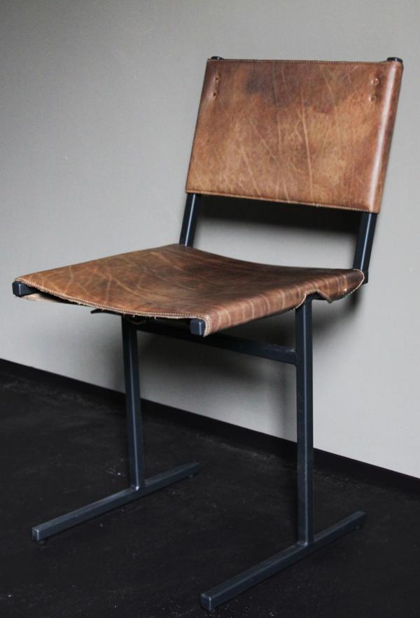 Leren stoel inspiraties for Leren stoel