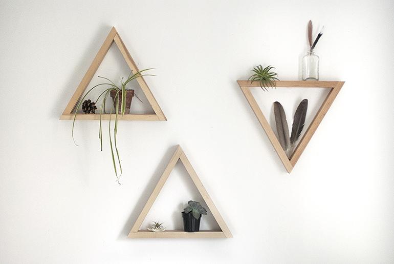 Leuke wandplankjes zelf maken inspiraties for Zelf muurdecoratie maken