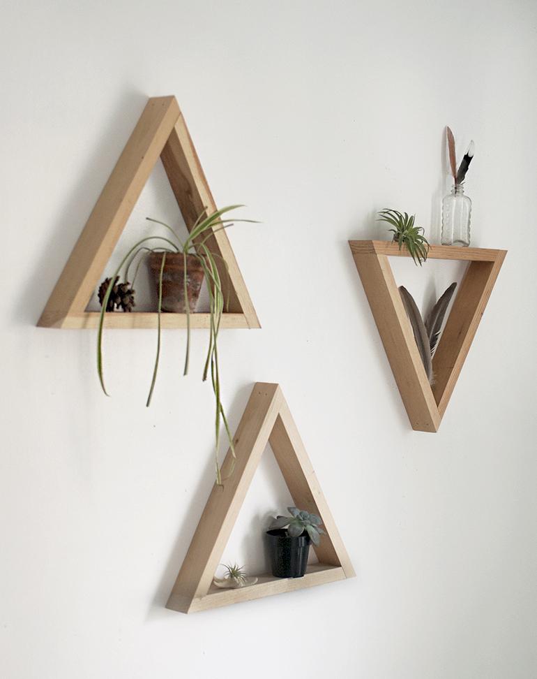 Leuke wandplankjes zelf maken - Inspiraties - ShowHome.nl