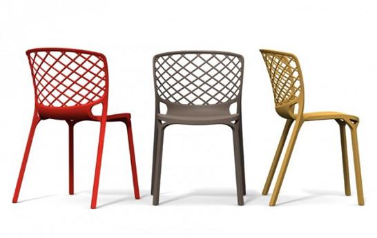 Lichtgewicht stoelen inspiraties for Cucine calligaris