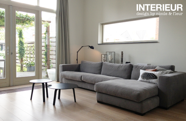 Make over zithoek interieurstylist for Interieur stylen