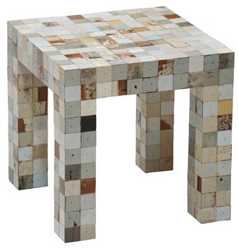 meubels van afvalhout inspiraties showhome