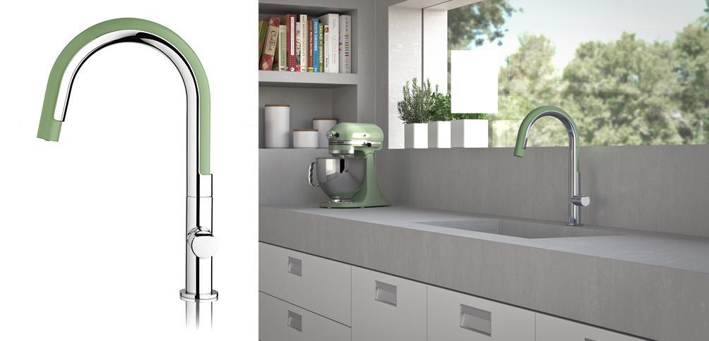 Moderne keukenkraan - Inspiraties - ShowHome.nl
