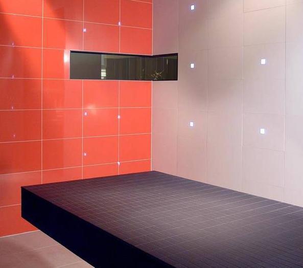 Tips over tegelvloeren leggen en onderhouden - Rode mozaiek tegel ...