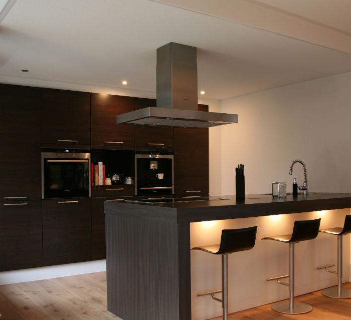 Nieuwe indeling appartement interieurstylist - Lounge en keuken in dezelfde kamer ...